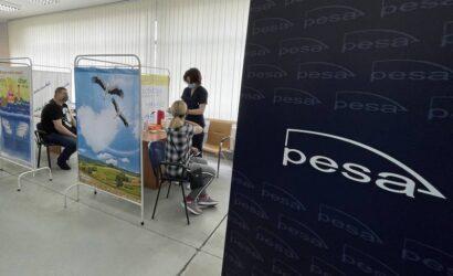 Pesa Bydgoszcz rozpoczyna szczepienie pracowników
