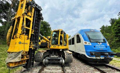 Torpol rozpoczął elektryfikację linii PKM
