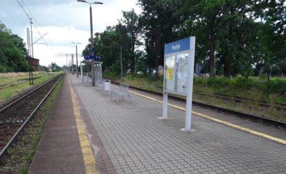 PKP PLK przebudują perony na stacji Pasłęk