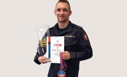 Funkcjonariusz SOK brązowym medalistą Mistrzostw Polski U23 w zapasach