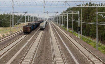 PLK: przebudowa torów do portów w Szczecinie i Świnoujściu przebiega zgodnie z harmonogramem