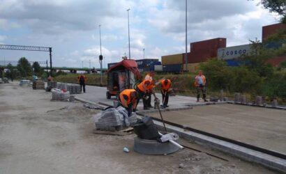 Na stacji Poznań Franowo powstaje nowy punkt ładunkowy