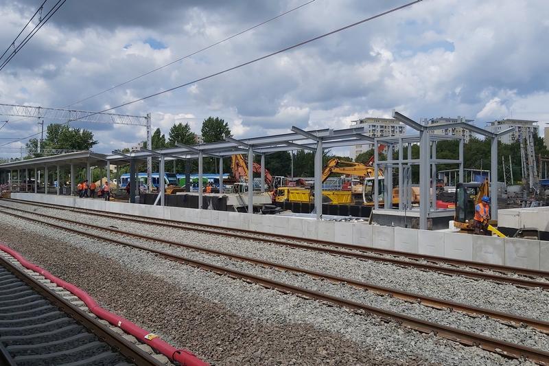 Już w sierpniu pasażerowie skorzystają z peronu nr 3 na stacji Rzeszów