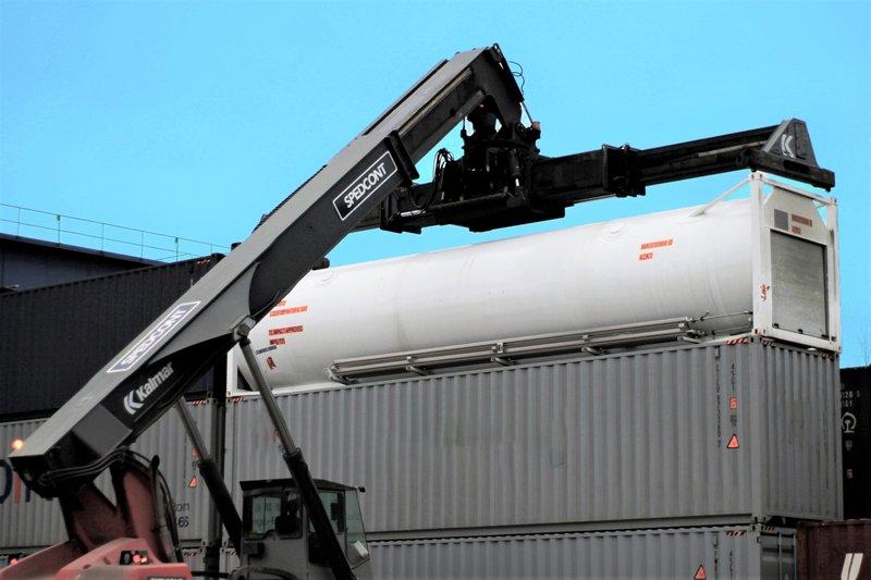 SPEDCONT zakończył testy transportu gazu LNG