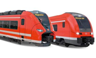 Siemens dostarczy DB Regio Bayern 31 pociągów regionalnych