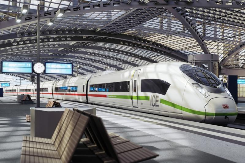 Siemens Mobility dostarczy 30 pociągów dużych prędkości dla DB