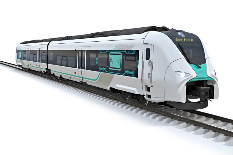 Siemens Mobility i Siemens Energy rozwijają technologię wodorową w pociągach