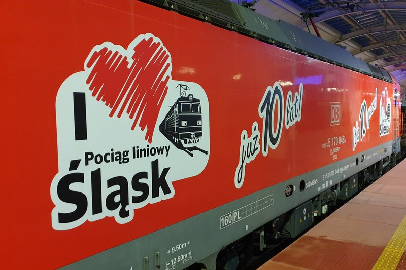 Mija 10 lat od uruchomienia pociągu SILESIA DB Cargo