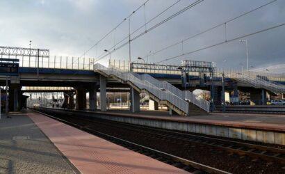 PLK wybrały wykonawcę remontu kładki w Skierniewicach