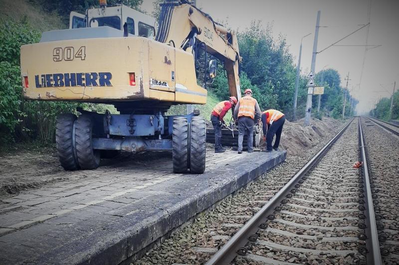 Na przystanku Suchatówka ruszyła przebudowa peronów