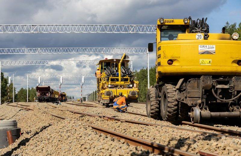 Trwa przebudowa linii kolejowych do portów w Szczecinie i Świnoujściu
