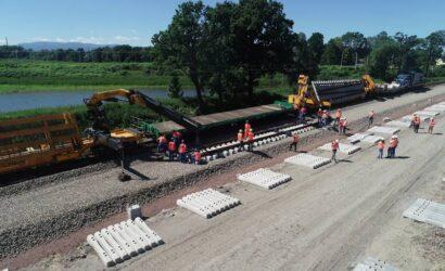 Trwa przebudowa układu torowego na stacji Czechowice-Dziedzice