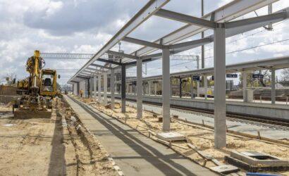 Trwa modernizacja stacji w Szamotułach