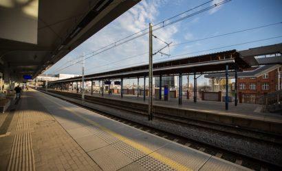 Stacja Szczecin Gł. z czterema nowymi peronami