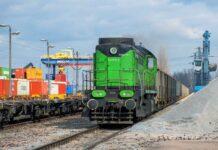 Przewóz towarów koleją wzrósł o 10% rok do roku