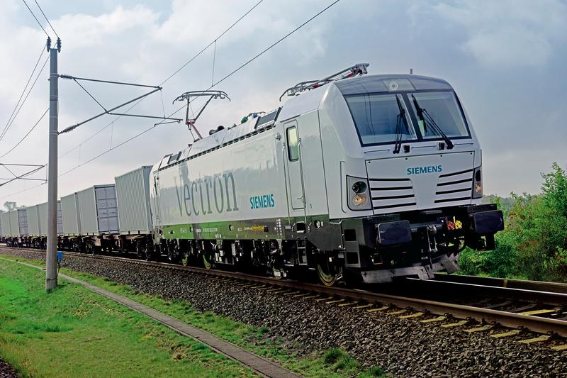 Ponad 1000 lokomotyw Vectron w Europie