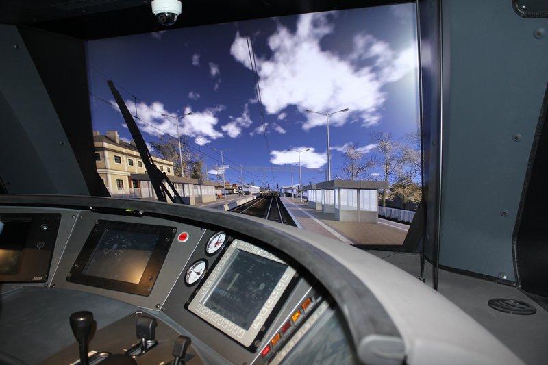 Koleje Mazowieckie zyskały nowoczesny symulator jazdy