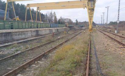 PKP PLK wyremontują tory na stacji towarowej w Werchracie