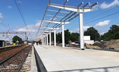Trwa przebudowa przystanku Wrocław Muchobór