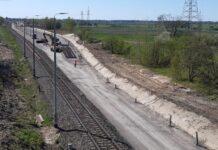 KZN Rail posumował dotychczasowe prace przy budowie mijanki Zamość-Majdan LHS