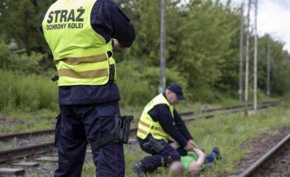 Funkcjonariusze SOK zatrzymali złodzieja kabla telekomunikacyjnego
