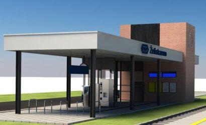 Rusza budowa dworca w Żelistrzewie