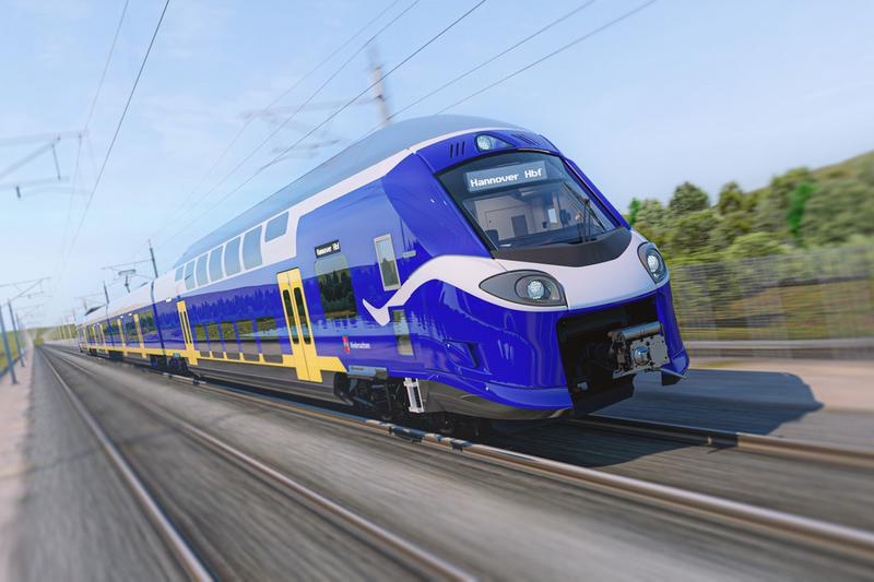 Alstom dostarczy pociągi piętrowe do Dolnej Saksonii w Niemczech