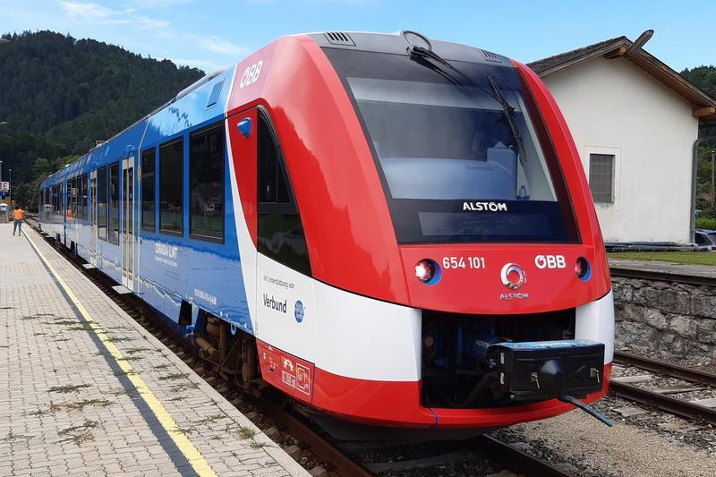 Coradia iLint będzie przewozić pasażerów w Austrii