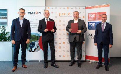 Alstom dostarczy PCC Intermodal cztery lokomotywy Traxx MS3