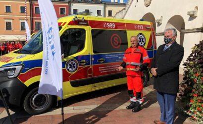 Nowy ambulans od PKP LHS dla Zamościa