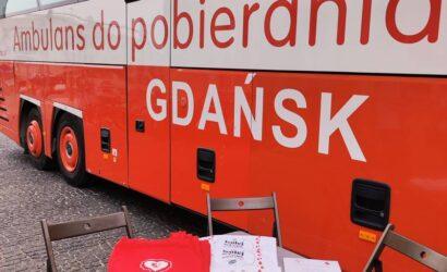 Podczas akcji krwiodawstwa w Gdyni zebrano ponad 6 litrów krwi