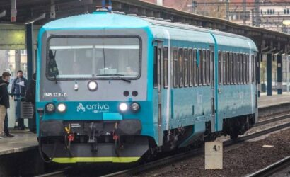 Arriva wygrała duży przetarg na obsługę pociągów w Czechach