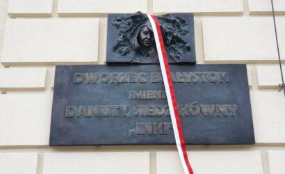 """""""Inka"""" patronką dworca kolejowego w Białymstoku"""