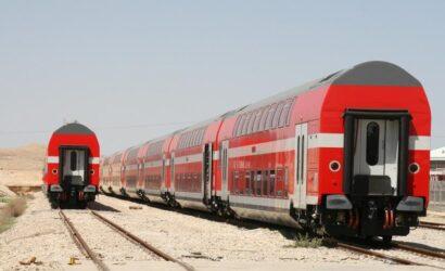 Bombardier zmodernizuje 143 wagony piętrowe dla Israel Railways