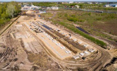 Stadler buduje zaplecze techniczne do obsługi pojazdów KM w Sochaczewie