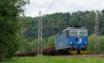 ČD Cargo przebuduje 18 lokomotyw serii 163 na dwusystemowe serii 363