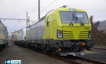 ČD Cargo wydzierżawiło pięć wielosystemowych lokomotyw Vectron