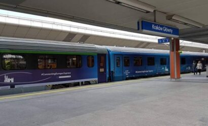 Connecting Europe Express w Krakowie