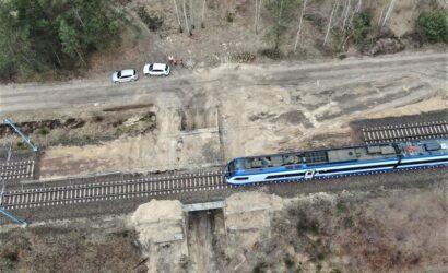 W województwie łódzkim trwa przebudowa mostów i wiaduktów na CMK