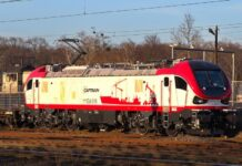 Captrain Polska wydzierżawił lokomotywę Gama Marathon