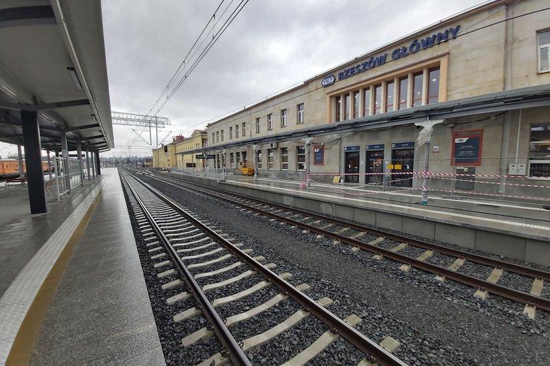 Kończy się pierwszy etap modernizacji stacji Rzeszów Główny