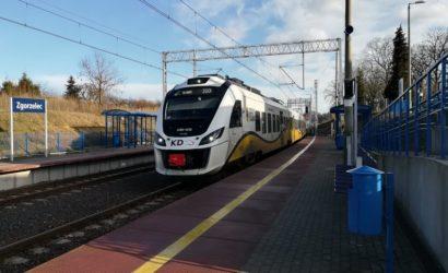 Pasażerowie korzystają na elektryfikacji linii Węgliniec – Zgorzelec