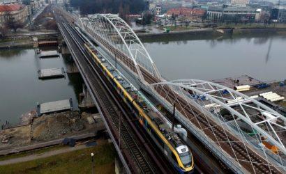 Kraków: obok mostów kolejowych powstanie kładka pieszo-rowerowa
