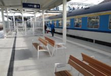 Podróżni korzystają już z dwóch nowych peronów stacji Rzeszów Główny