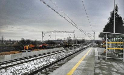 Stacja Sławków na półmetku przebudowy