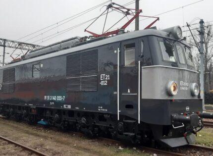 CTL Logistics samodzielnie wykonał naprawę P5 lokomotywy ET21-12