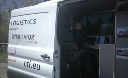 Ponad 300 maszynistów szkoliło się w mobilnym symulatorze CTL Logistics
