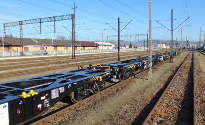 PKP Cargo odebrało 50 wagonów z unijnego projektu taborowego