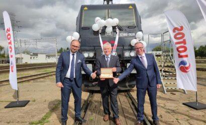 Bombardier dostarczył Cargounit pierwszą z trzech lokomotyw Traxx