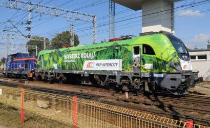 PKP Intercity okleiło Griffina z okazji Europejskiego Roku Kolei